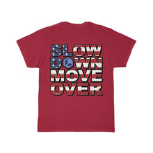 Load image into Gallery viewer, SDMO Flag (Road Construction) Short Sleeve Tee Back Design