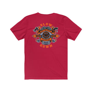 Short Sleeve Tee (SDMO Gear Front / Multi-Badge Back)