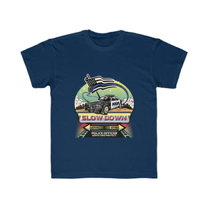 Kids Regular Fit Tee - SDMO Police Mural Design