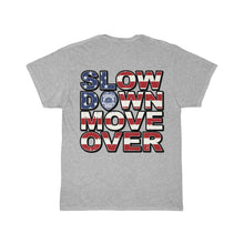 Load image into Gallery viewer, SDMO Flag (Law Enforcement) Short Sleeve Tee Back Design
