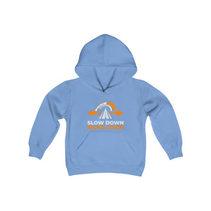 Youth Heavy Blend Hooded Sweatshirt - SDMO Primary