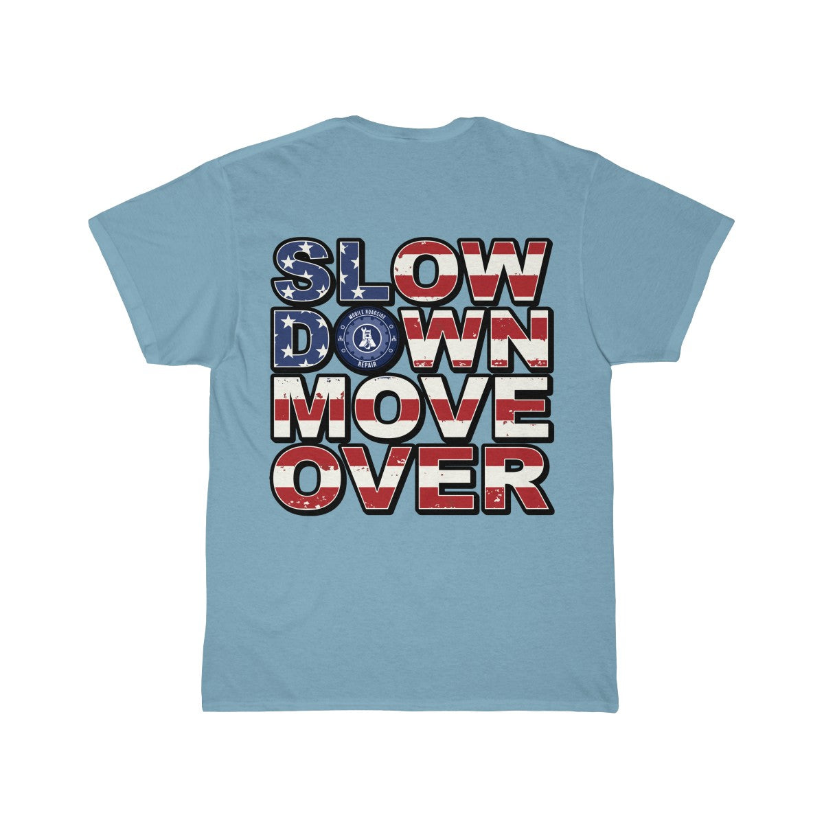 SDMO Flag (Mobile Mechanic) Short Sleeve Tee Back Design