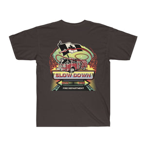 Men's Surf Tee  - Canadian SDMO Fire Mural Design