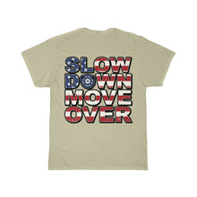 Load image into Gallery viewer, SDMO Flag (Fire) Short Sleeve Tee Back Design