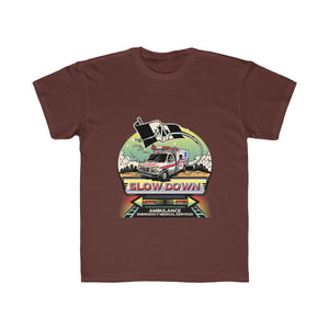 Kids Regular Fit Tee - Canadian SDMO EMS EMT Mural Design