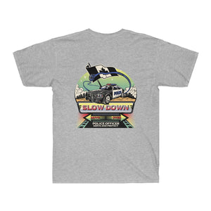 Men's Surf Tee - Canadian SDMO Police Mural Design
