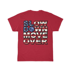 SDMO Flag (Road Construction) Short Sleeve Tee Back Design