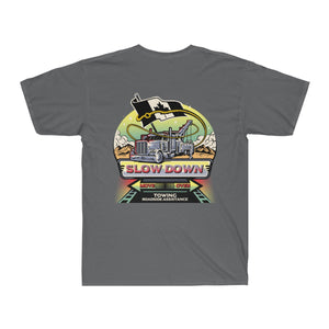 Men's Surf Tee - Canadian SDMO Towing Mural Design