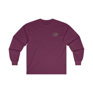 Ultra Cotton Long Sleeve Tee - SDMO Four Flag