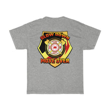 Load image into Gallery viewer, Basic Heavy Cotton Tee - SDMO Fire Badge Design