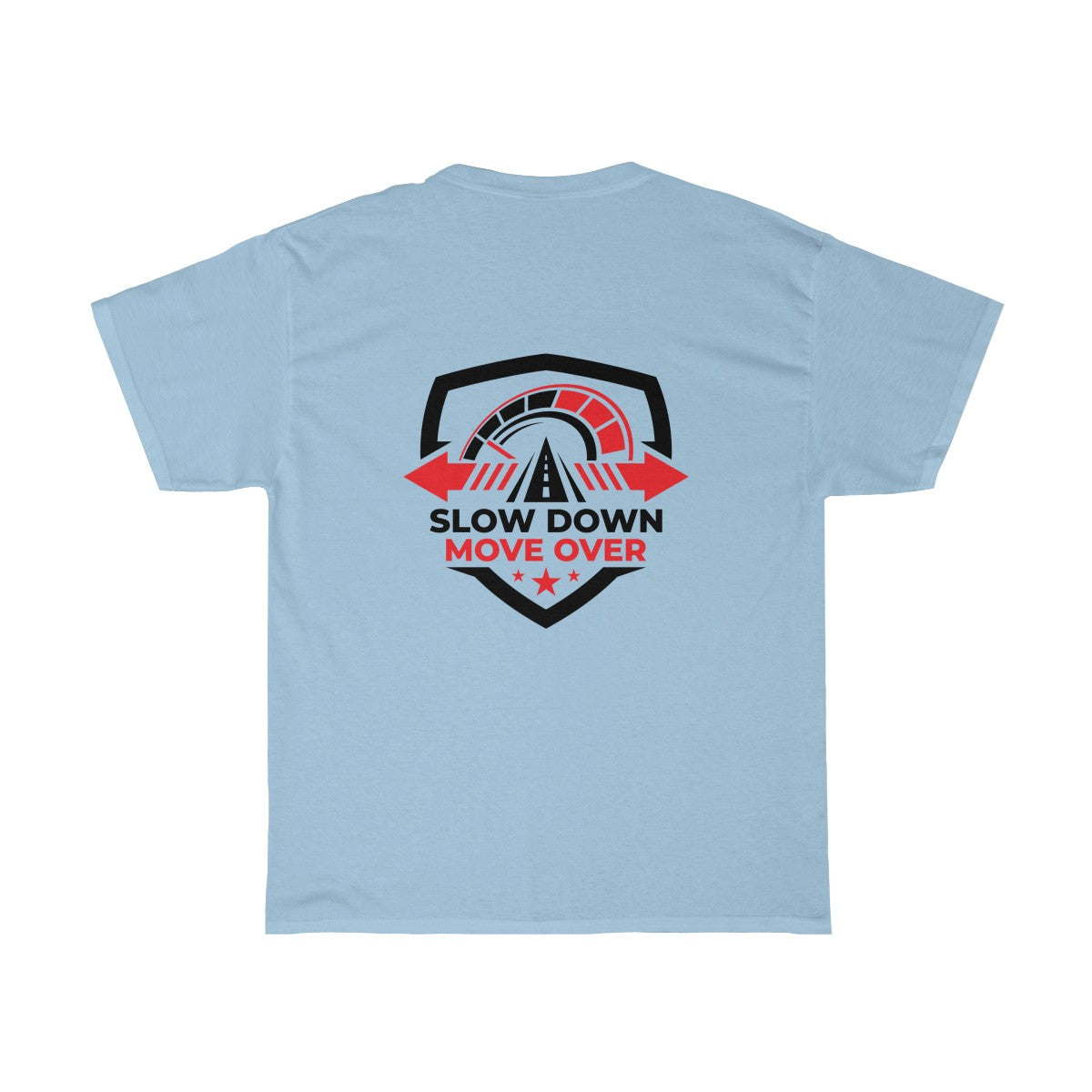 Basic Heavy Cotton Tee - SDMO Shield Design
