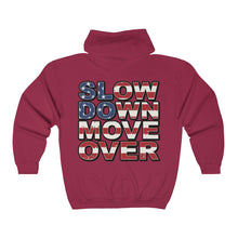 Load image into Gallery viewer, Unisex Heavy Blend Full Zip Hoodie - SDMO Flag / Multi