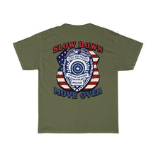 Load image into Gallery viewer, Basic Heavy Cotton Tee - SDMO Police Badge Design
