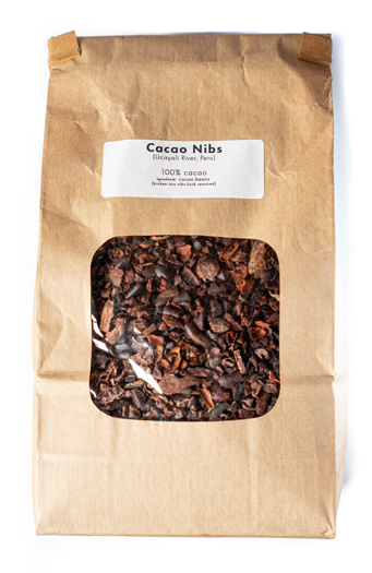 Cacao Nibs From Peru (100% No Sugar Added)