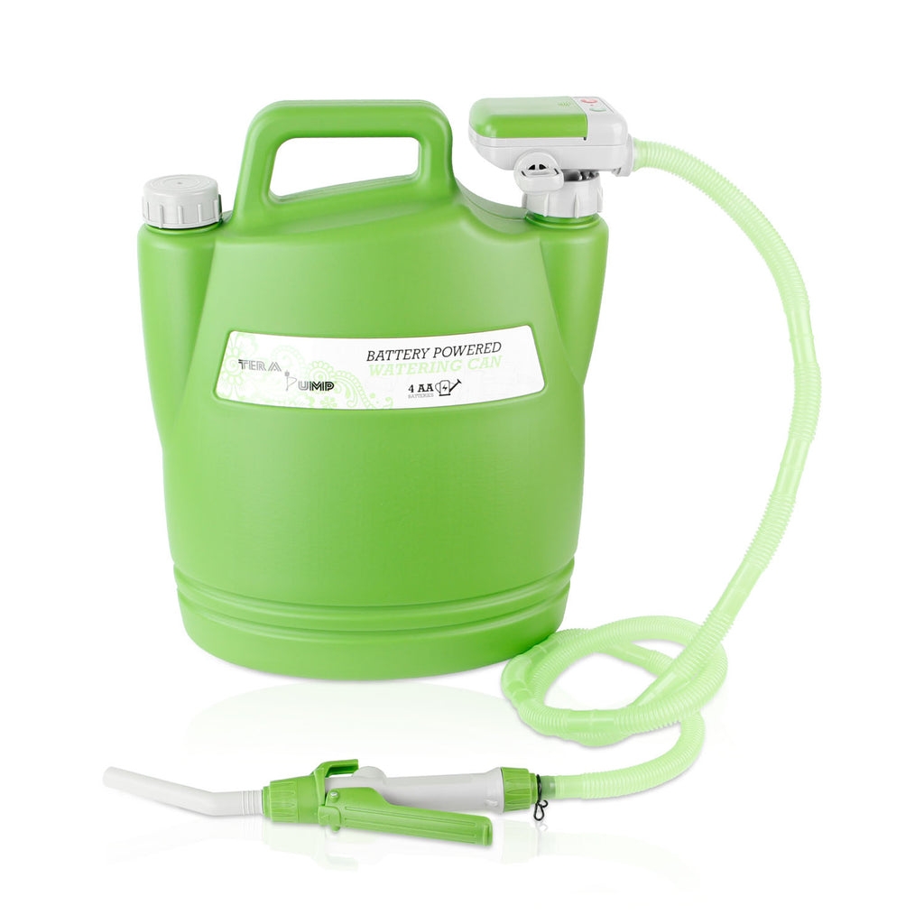 TeraPump - TRWC-L - Battery Powered Watering Can 4.9FT Hose - BRS Super Pumps