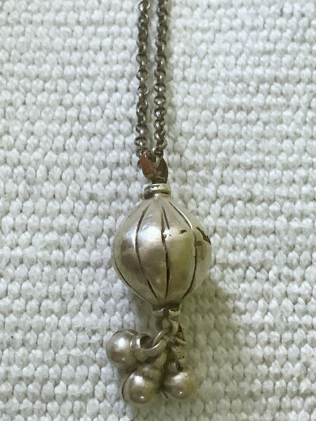 Silver Vintage Melon Shaped Borla