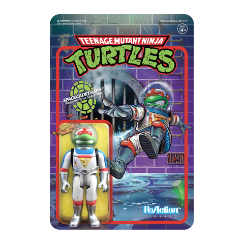 Teenage Mutant Ninja Turtles ReAction Figure - Space Cadet Raphael