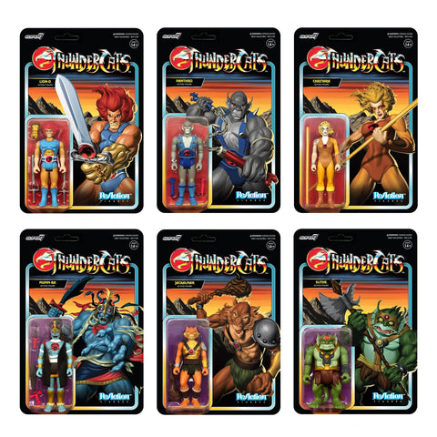 Thundercats ReAction Figure - Set of 6