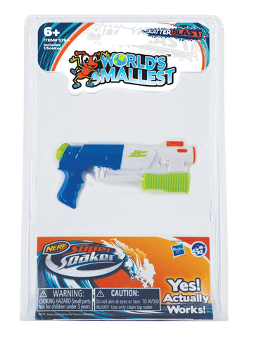 World's Smallest Super Soaker Scatter Blast