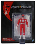 World's Smallest Power Rangers Red Ranger Micro Action Figures