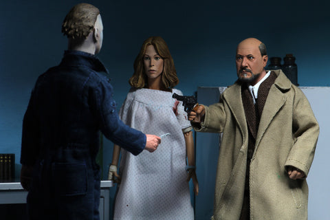 "NECA - Halloween 2 (1981) - Dr. Loomis & Laurie Strode 8"" Clothed Action Figures"