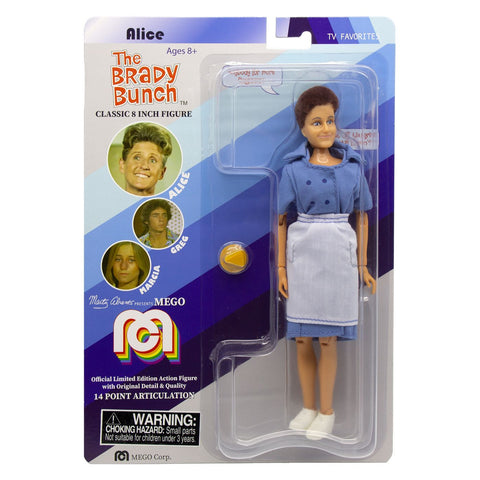 "Mego TV Favorites The Brady Bunch Alice 8"" Action Figure"