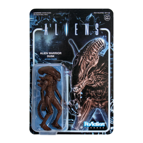 Aliens ReAction Figure - Alien Warrior B (Dusk Brown)