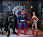 "Mego DC Wave 9 - Batman, Superman, and Wonder Woman - Set of 3 - 8"" Action Figures (Pre-Order Ships December)"