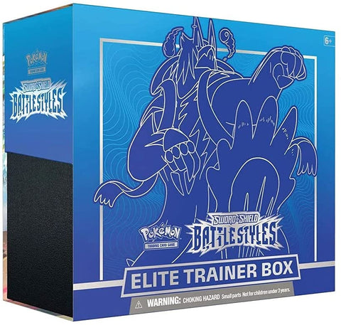 Pokemon TCG: Sword & Shield - Battle Styles Elite Trainer Box - Blue