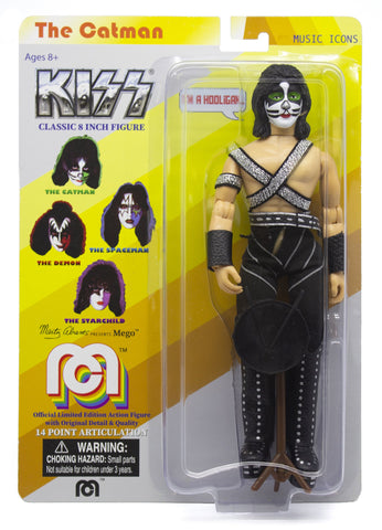 "Mego Music Icons KISS The Catman 8"" Action Figure"