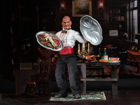 "NECA - Nightmare on Elm Street - Chef Freddy 8"" Clothed Action Figure"