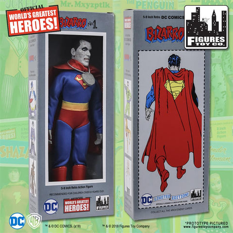 "Dc Comics - Bizarro 8"" Action Figure"
