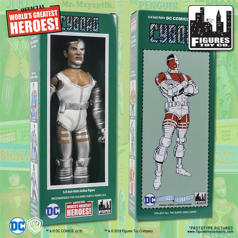 "DC Comics - Cyborg 8"" Action Figure"