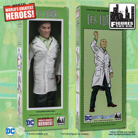 "DC Comics - Lex Luthor 8"" Action Figure"