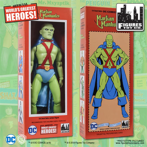 "DC Comics - Martian Manhunter 8"" Action Figure"