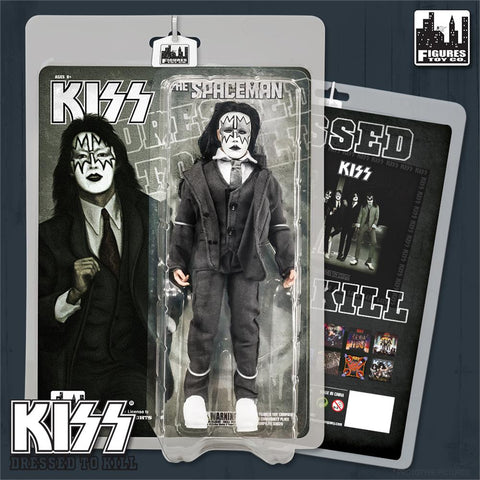 "KISS - The Spaceman - Dressed To Kill (Re-Issue) 8"" Action Figure"