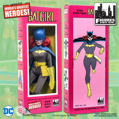 "DC Comics - Batgirl 8"" Action Figure"