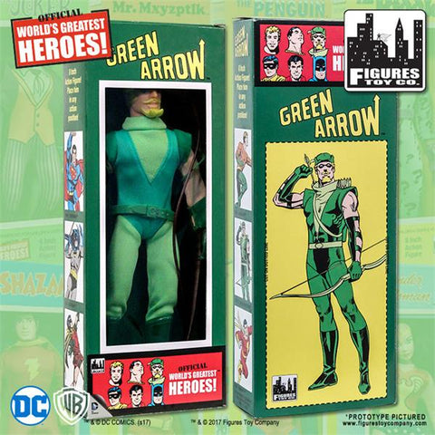 "DC Comics - Green Arrow 8"" Action Figure"