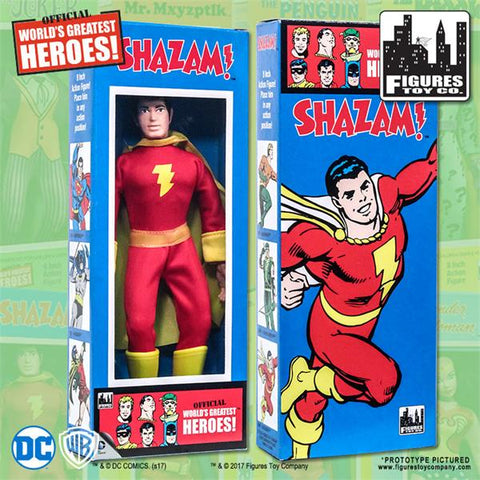 "DC Comics - Shazam 8"" Action Figure"