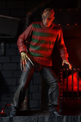 "NECA - Nightmare on Elm Street - Ultimate Freddy 7"" Action Figure"