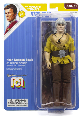 "Mego Star Trek Wave 7 - Wrath of Khan - Khan 8"" Action Figure"