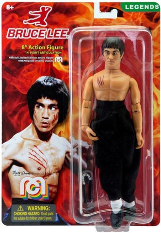 "Mego Legends Bruce Lee 8"" Action Figure"