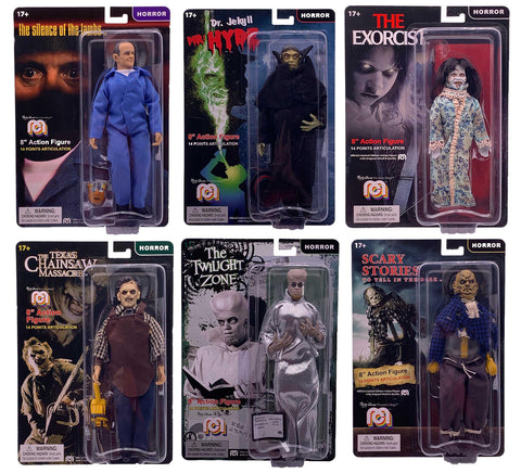 Mego Horror Wave 8 - Set of 6 Action Figures