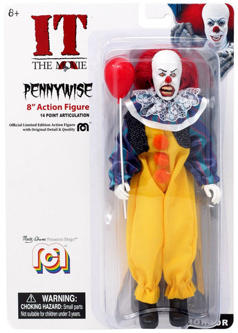 "Mego Horror Wave 7 - It Pennywise 8"" Action Figure (Pre-Order Ships Early August)"