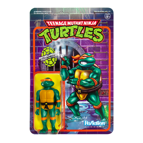Teenage Mutant Ninja Turtles ReAction Figure - Michelangelo