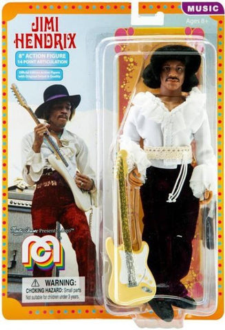 "Mego Music Jimi Hendrix - Miami Pop 8"" Action Figure"