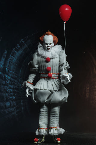 "Damaged Package NECA - IT (2017) - Pennywise 8"" Action Figure"