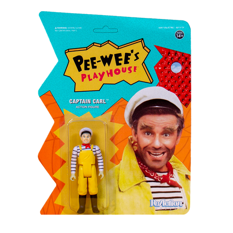 Pee-Wee's Playhouse ReAction Figure - Captain Carl