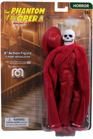 "Mego Horror Wave 10 - Universal Monsters Phantom of the Red Death 8"" Action Figure"