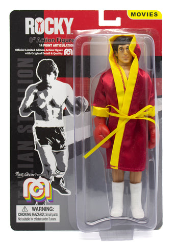 "Damaged Package Mego Movies Rocky - Rocky Balboa 8"" Action Figure"